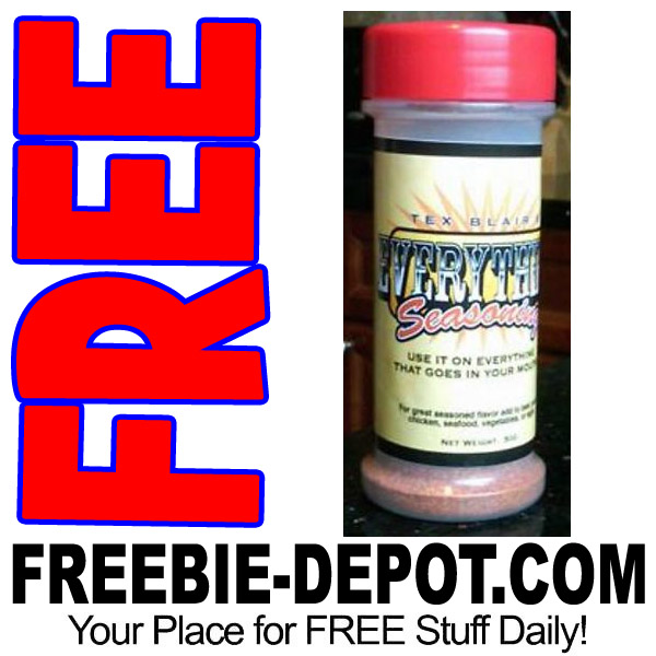 FREE SAMPLE – Tex Blair's Everything Seasoning