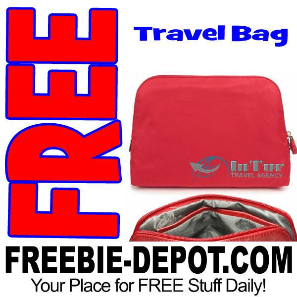 FREE Cosmetic Travel Bag – Exp 7/1/17