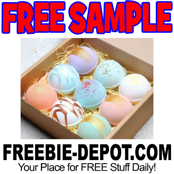 FREE SAMPLE – Bath Bomb from Bath Salts Boutique