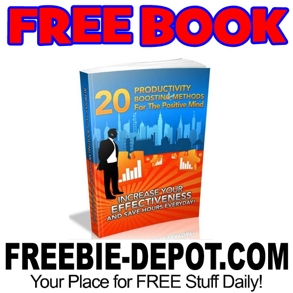 FREE BOOK – 20 Productivity Boosting Methods for the Positive Mind