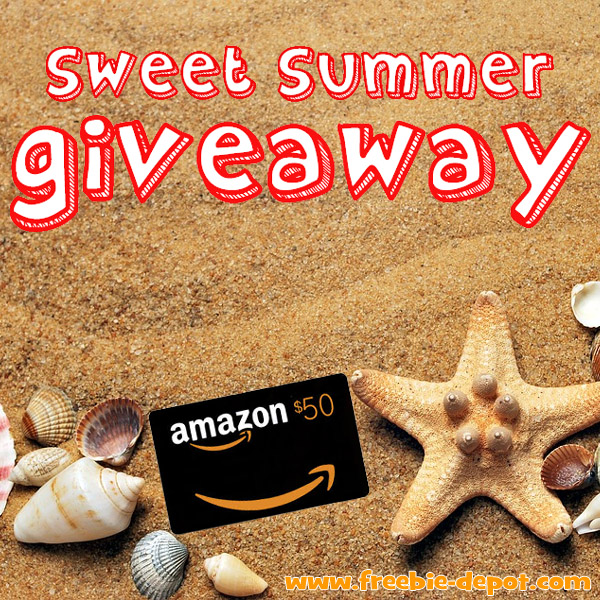 WHO WON? >>>> Sweet Summer #Giveaway – $50 Amazon Gift Card – Ends 8/15/17