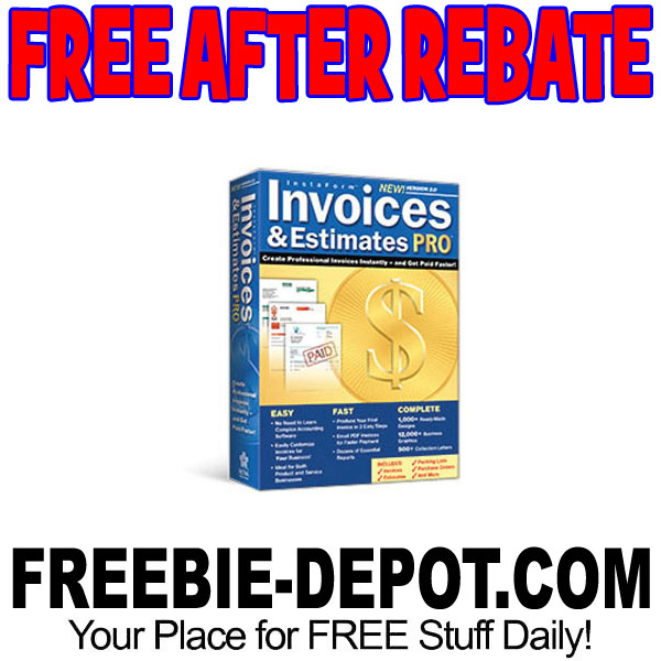 free after rebate invoices estimates pro 2 0 software free