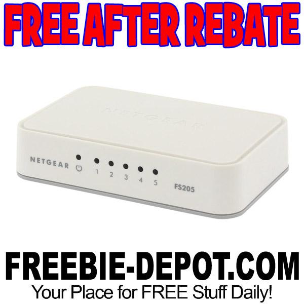 FREE AFTER REBATE – NETGEAR ProSAFE 5-Port Fast Ethernet Switch – Exp 9/4/17