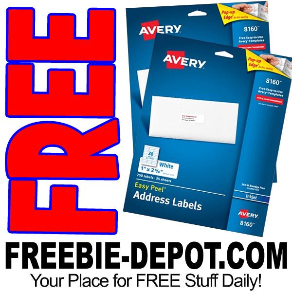 FREE Avery Easy Peel White Inkjet Address Labels – FREE Shipping! LIMIT 2 – Exp 9/2/17