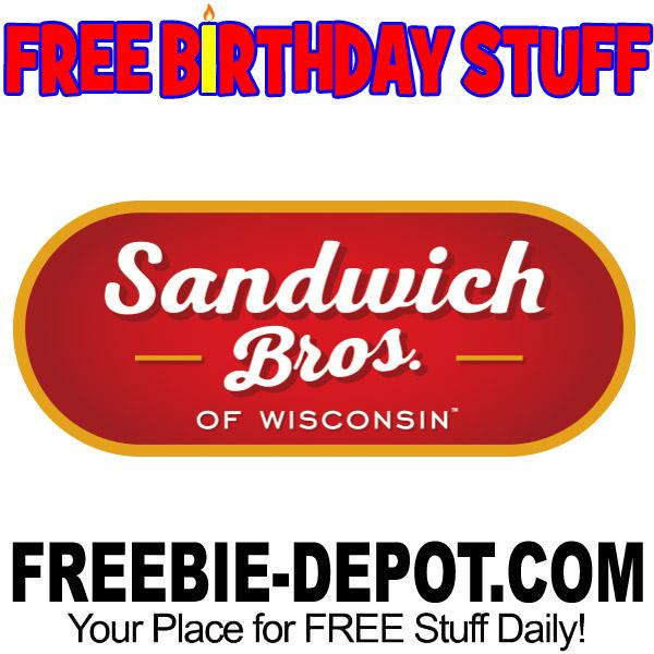 FREE BIRTHDAY STUFF – Sandwich Bros. Handheld Sandwiches