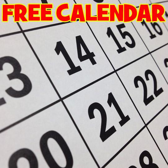 FREE Custom Photo Calendar – $24.99 Value – Exp 9/30/17