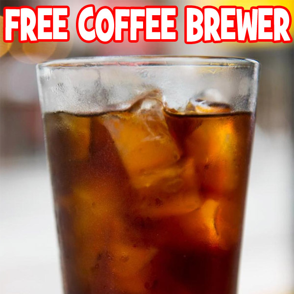 FREE Mason Jar Cold Brew Coffee Maker Freebie Depot