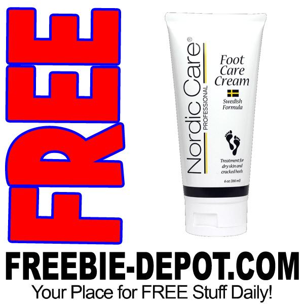 FREE SAMPLE – Nordic Care Foot Care Cream