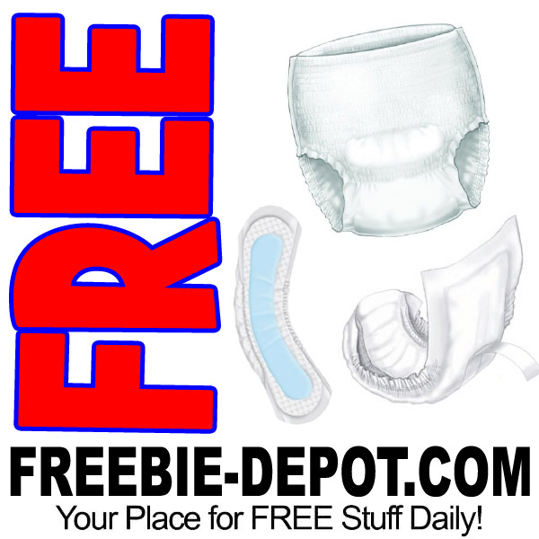FREE SAMPLE – Adult Incontinence Pads, Shields & Briefs