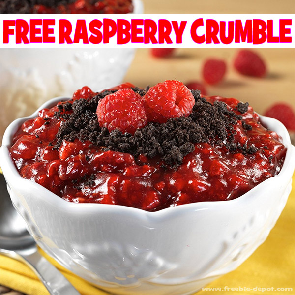 FREE Raspberry Crumble – FREE Shipping – Exp 10/31/17