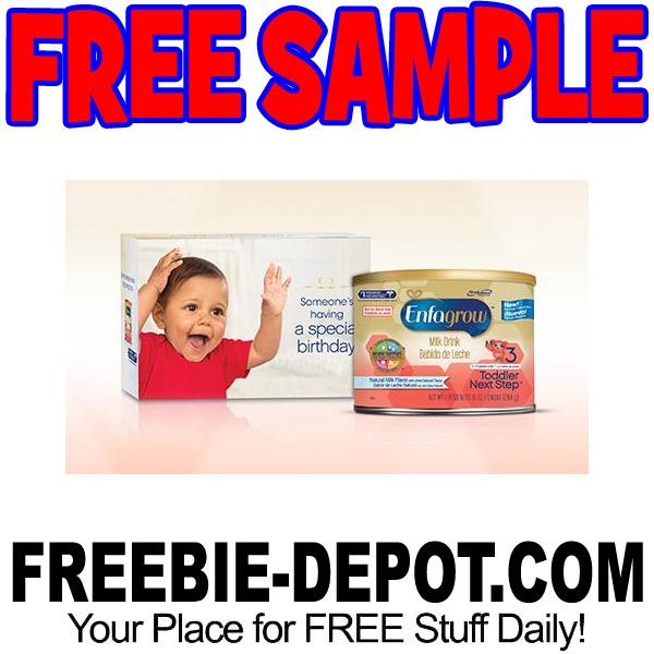 FREE SAMPLE – Enfagrow Toddler Next Step Formula – 10 oz.