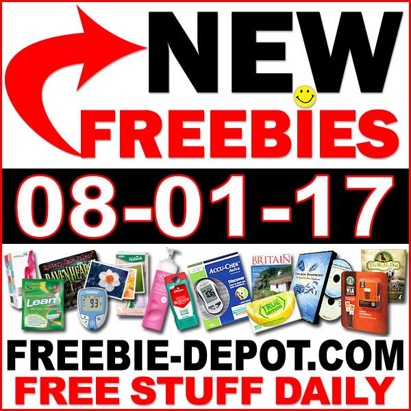 NEW FREEBIE HOTLIST – FREE Stuff for August 1, 2017