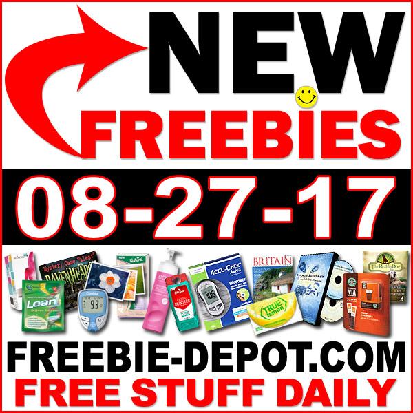 NEW FREEBIE HOTLIST – FREE Stuff for August 27, 2017