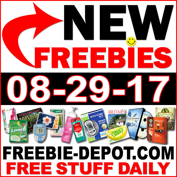NEW FREEBIE HOTLIST – FREE Stuff for August 29, 2017