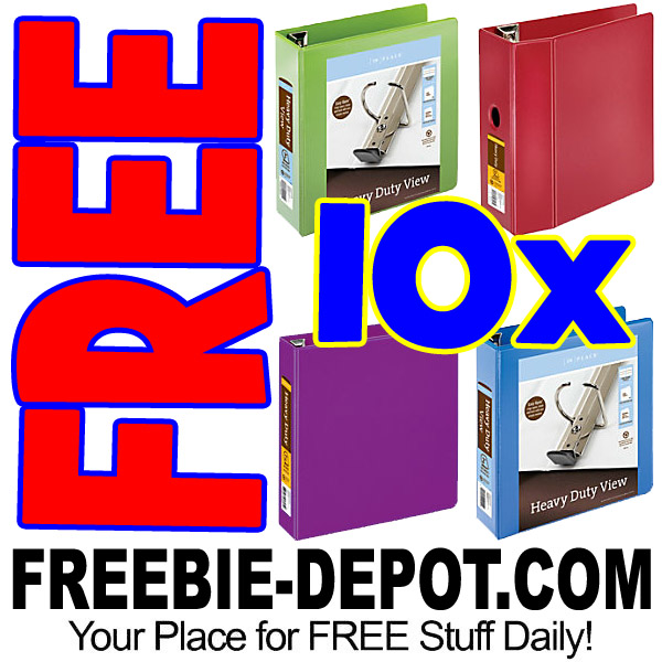 Hot 10 Free 3 Ring Binders From Office Depot Shipping Up To 299 90 Value Exp 9 23 17