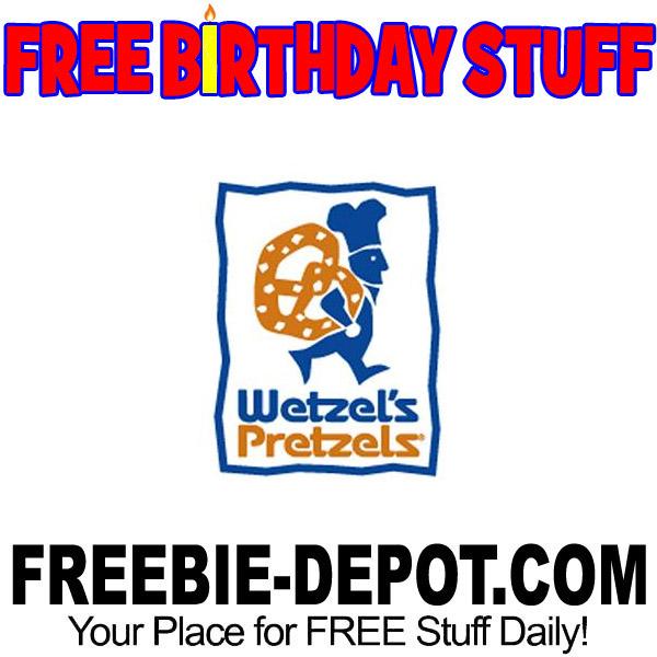 FREE BIRTHDAY STUFF – Wetzel's Pretzels
