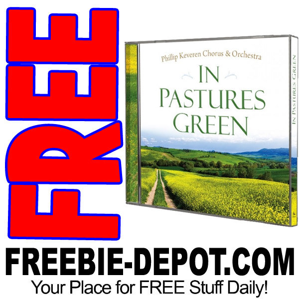 FREE CD – In Pastures Green