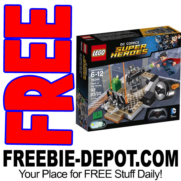 FREE LEGO Super Heroes Clash of the Heroes Set from Walmart – $11 Value – 9/28/17 ONLY!!!!