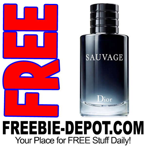 FREE SAMPLE – Sauvage Christian Dior Cologne for Men