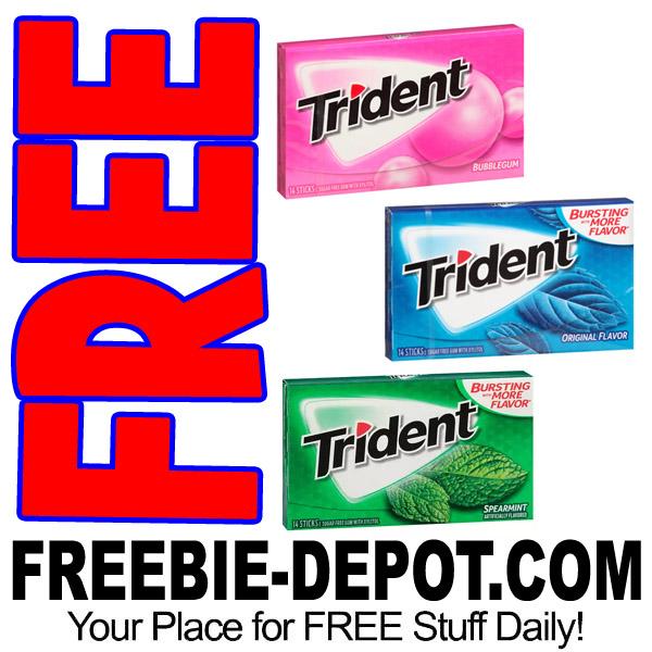 FREE Trident Gum at Kroger – 9/29/17
