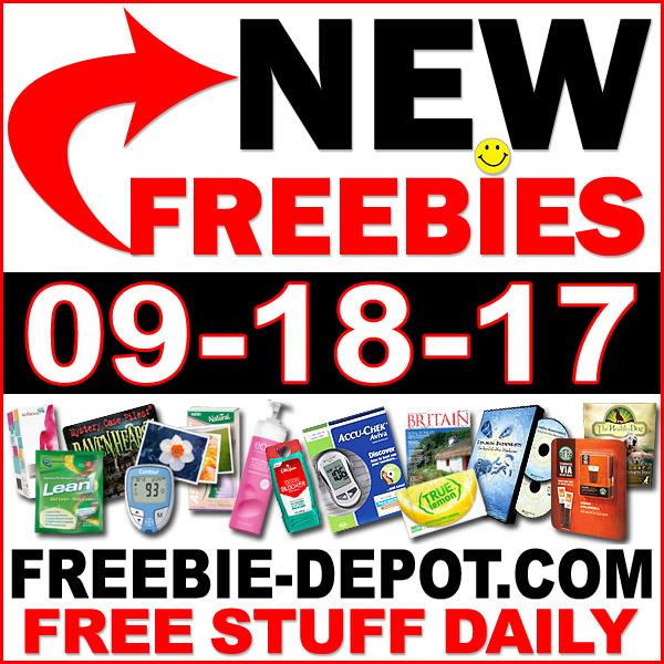 Top Freebies for September 18, 2017 | Freebie Depot