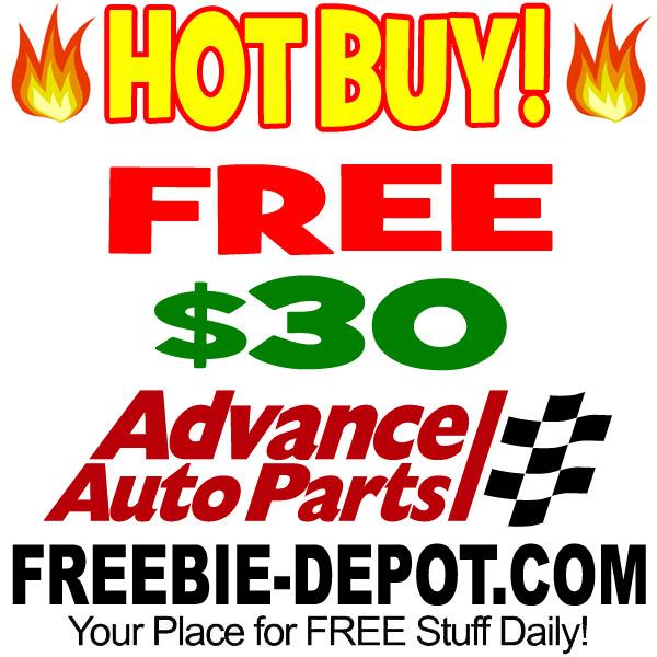 HOT DEAL >>> FREE $30 OFF at Advanced Auto Parts