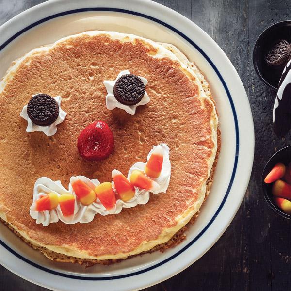 FREE Scary Face Pancakes at IHOP on Halloween! #ScaryFacePancake