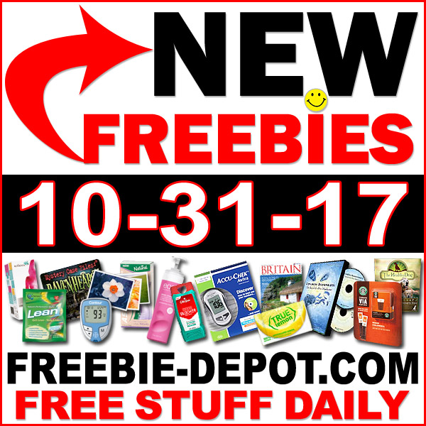 Top Freebies for October 31, 2017