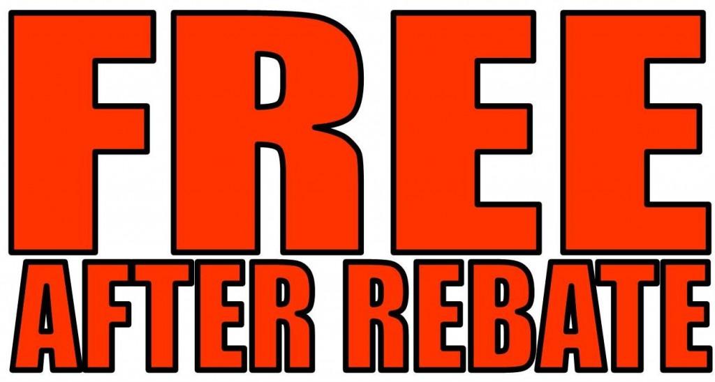 FREEbate Offers ending November 30, 2017