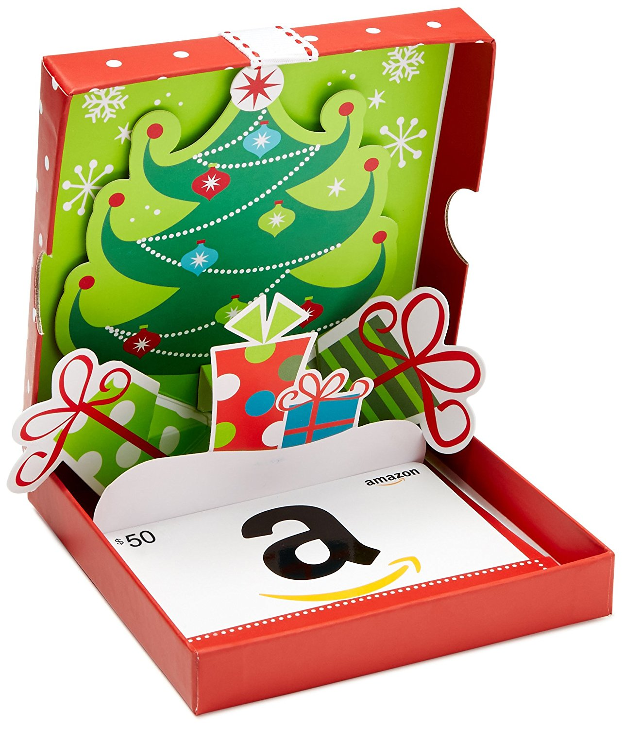 $50 Amazon Christmas Gift Card Giveaway! Ends 12/25/17