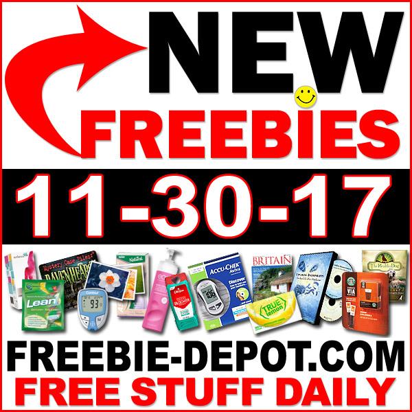 Top Freebies for November 30, 2017