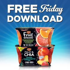 FREE Friday Del Monte Refresher or Fruit & Chia @ Kroger – 12/29/17