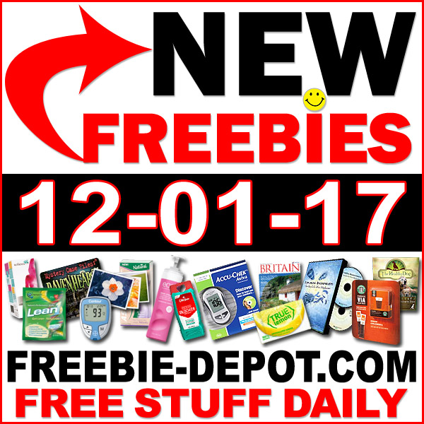 Top Freebies for December 1, 2017