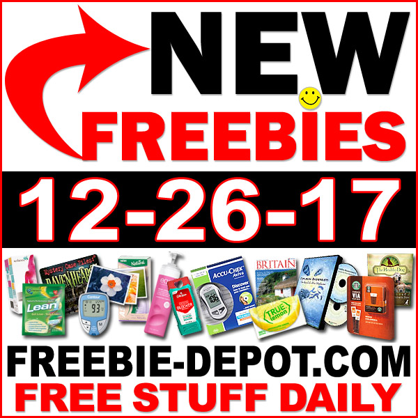Top Freebies for December 26, 2017