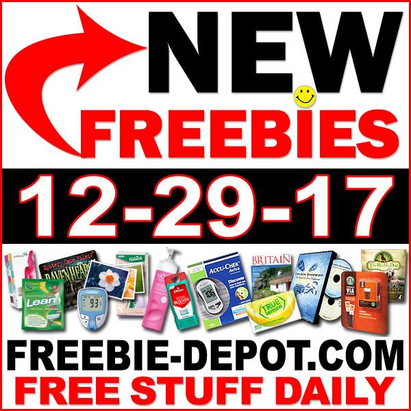 Top Freebies for December 29, 2017