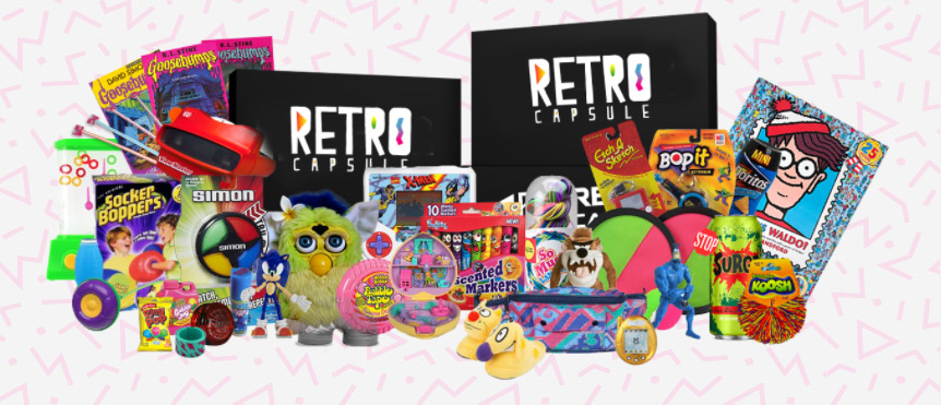 ► H O T ► FREE Retro Capsule Toys
