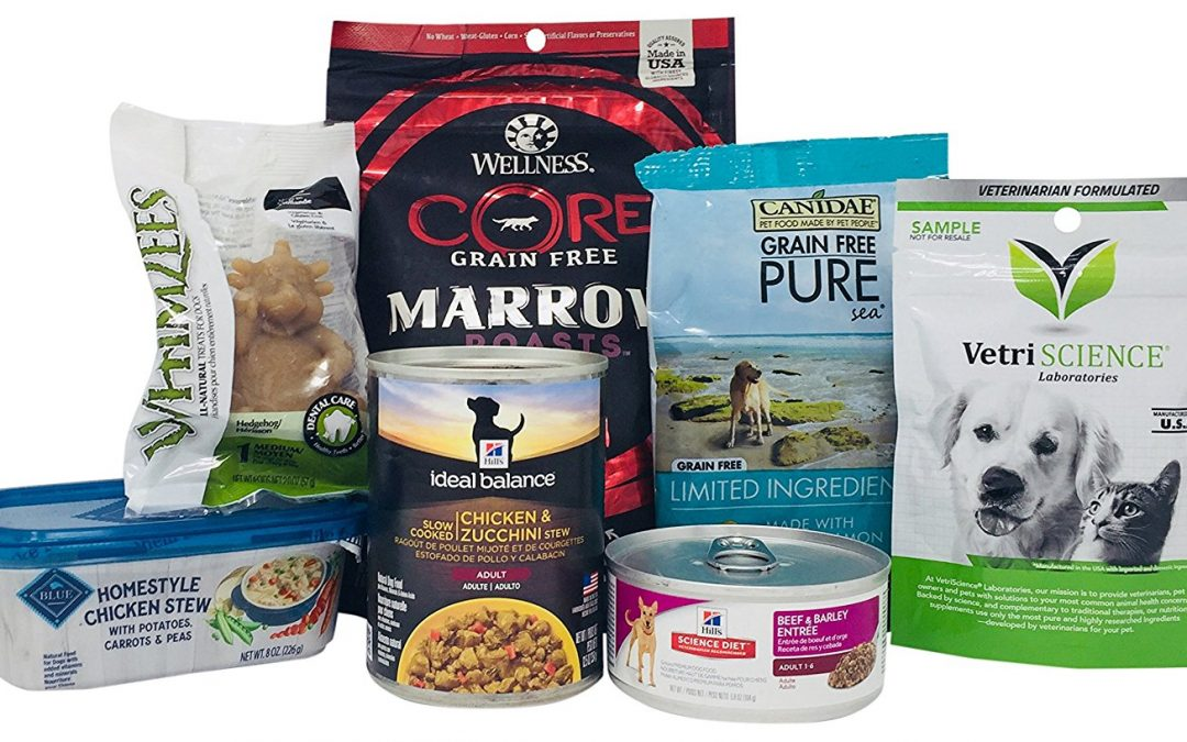 FREE Dog Food and Treat Sample Box w/ 7 Products!