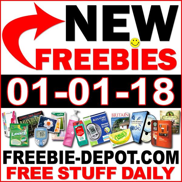 Top Freebies for January 1, 2018