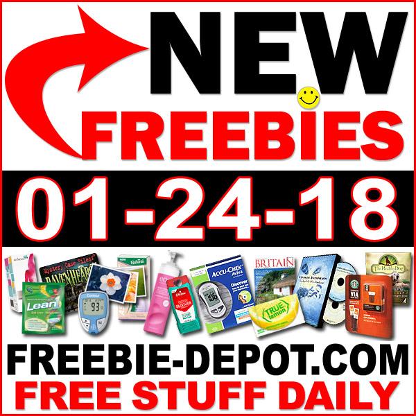 Top Freebies for January 24, 2018