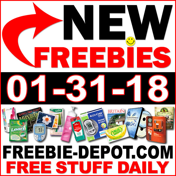 Top Freebies for January 31, 2018
