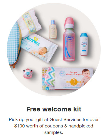FREE Samples & Coupons with Target Baby Registry | Freebie Depot
