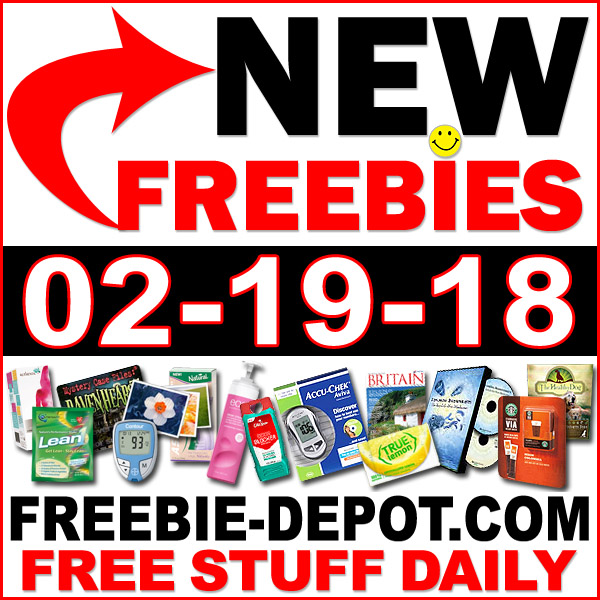 Top Freebies for February 19, 2018