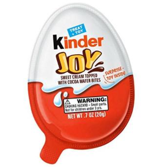 FREE Friday Kinder Joy Egg 3/30/18