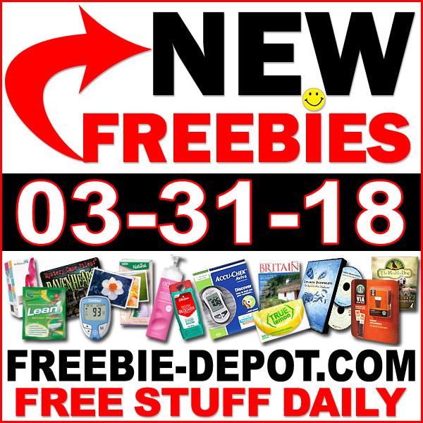Top Freebies for March 31, 2018