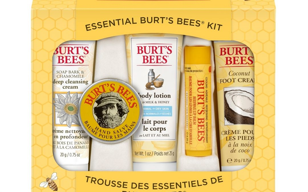 FREE Burt's Bees Kit w/ 5 Items from Target – $10 Value Exp 4/22/18