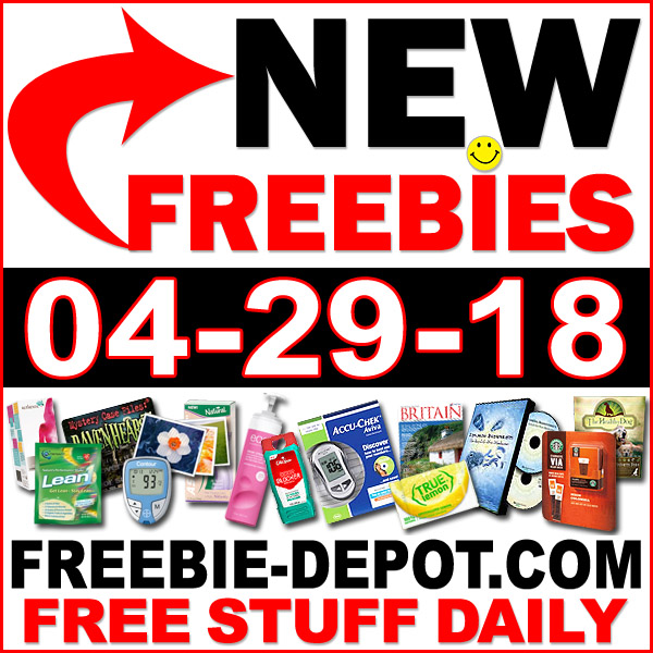 Top Freebies for April 29, 2018