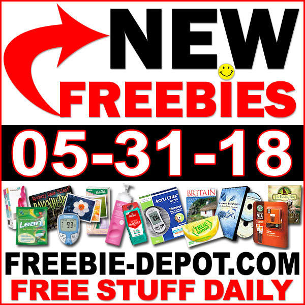 Top Freebies for May 31, 2018