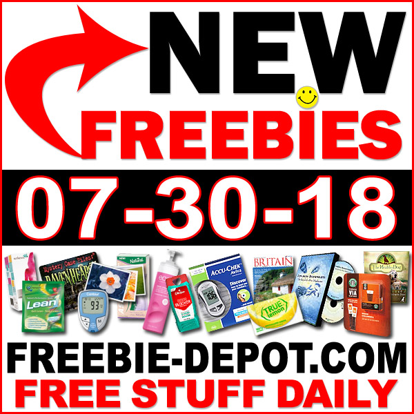 Top Freebies for July 30, 2018