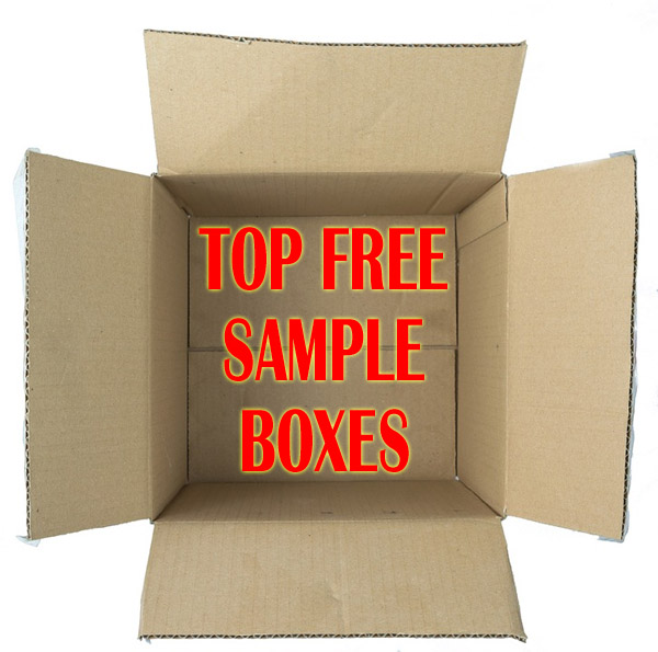 Top FREE Sample Boxes – EVERY MONTH in the Mail!