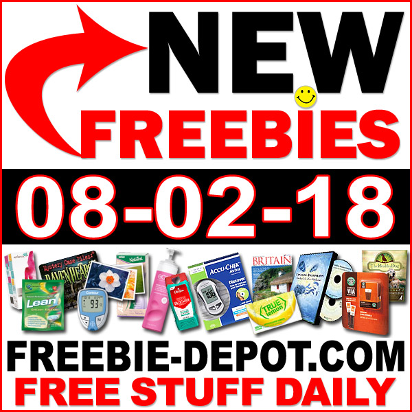 Top Freebies for August 2, 2018